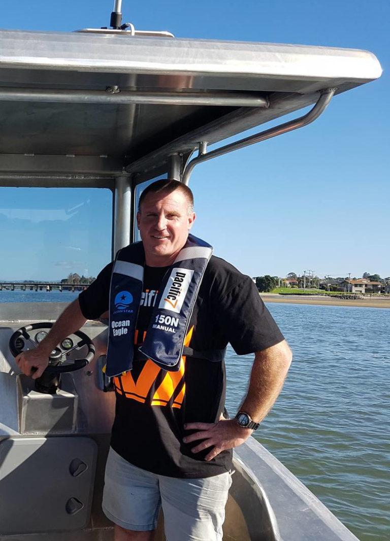 Electric Boat Director Sean Kelly