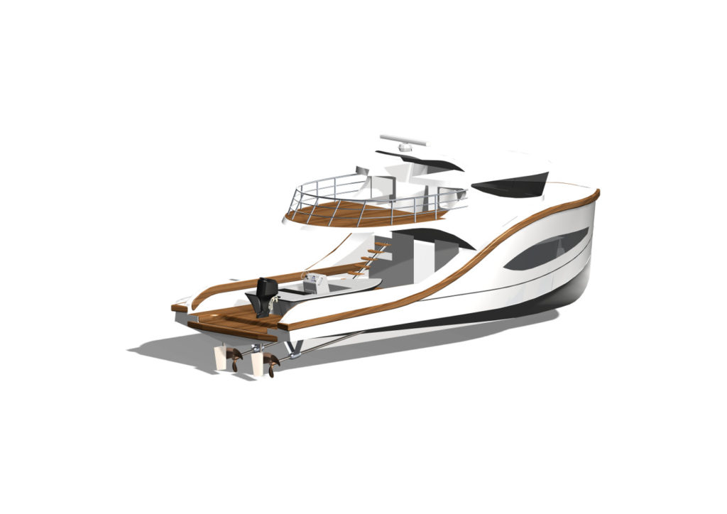 15 Meter Electric Pocket Mega Yacht