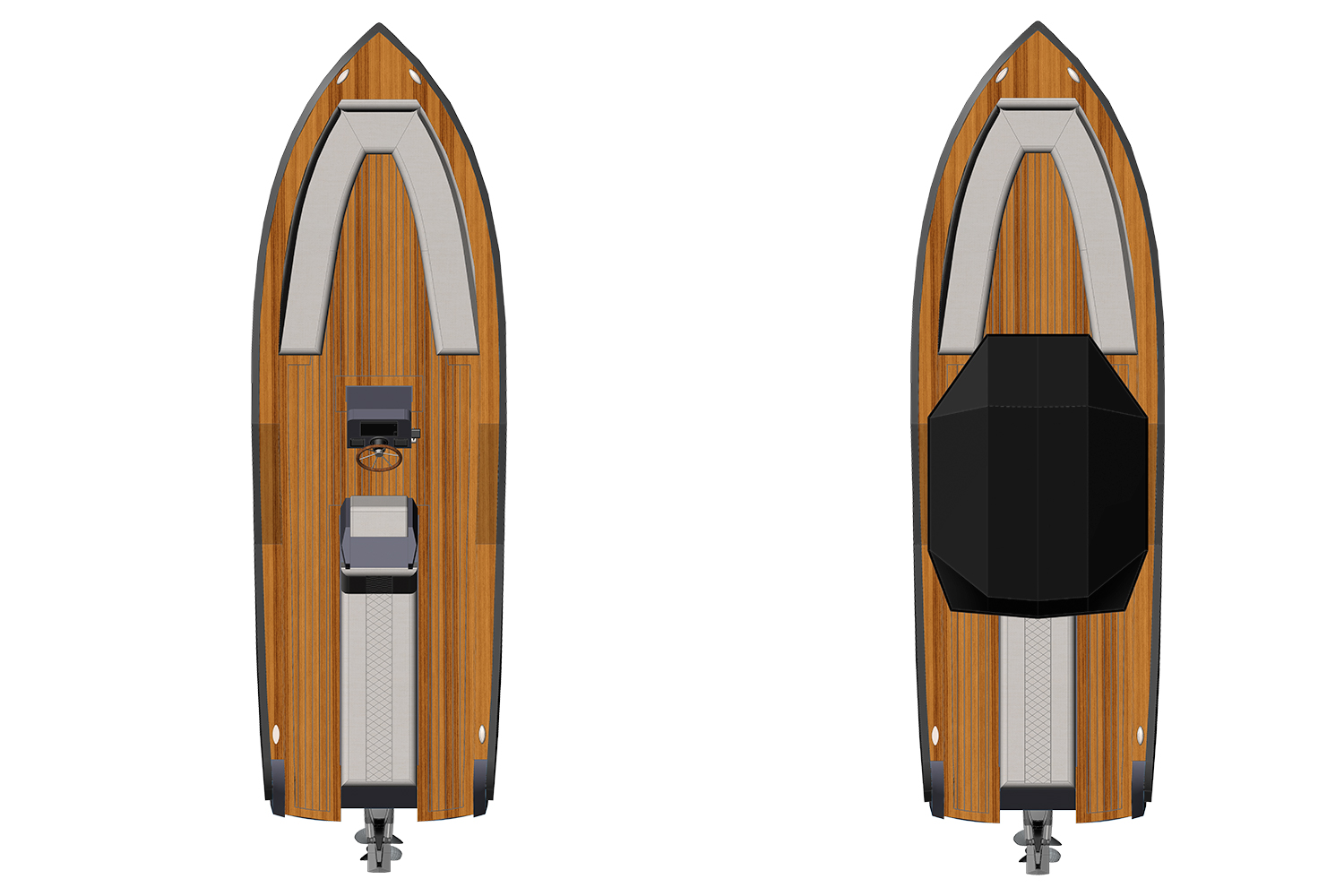 Electric Boat Yacht Tender