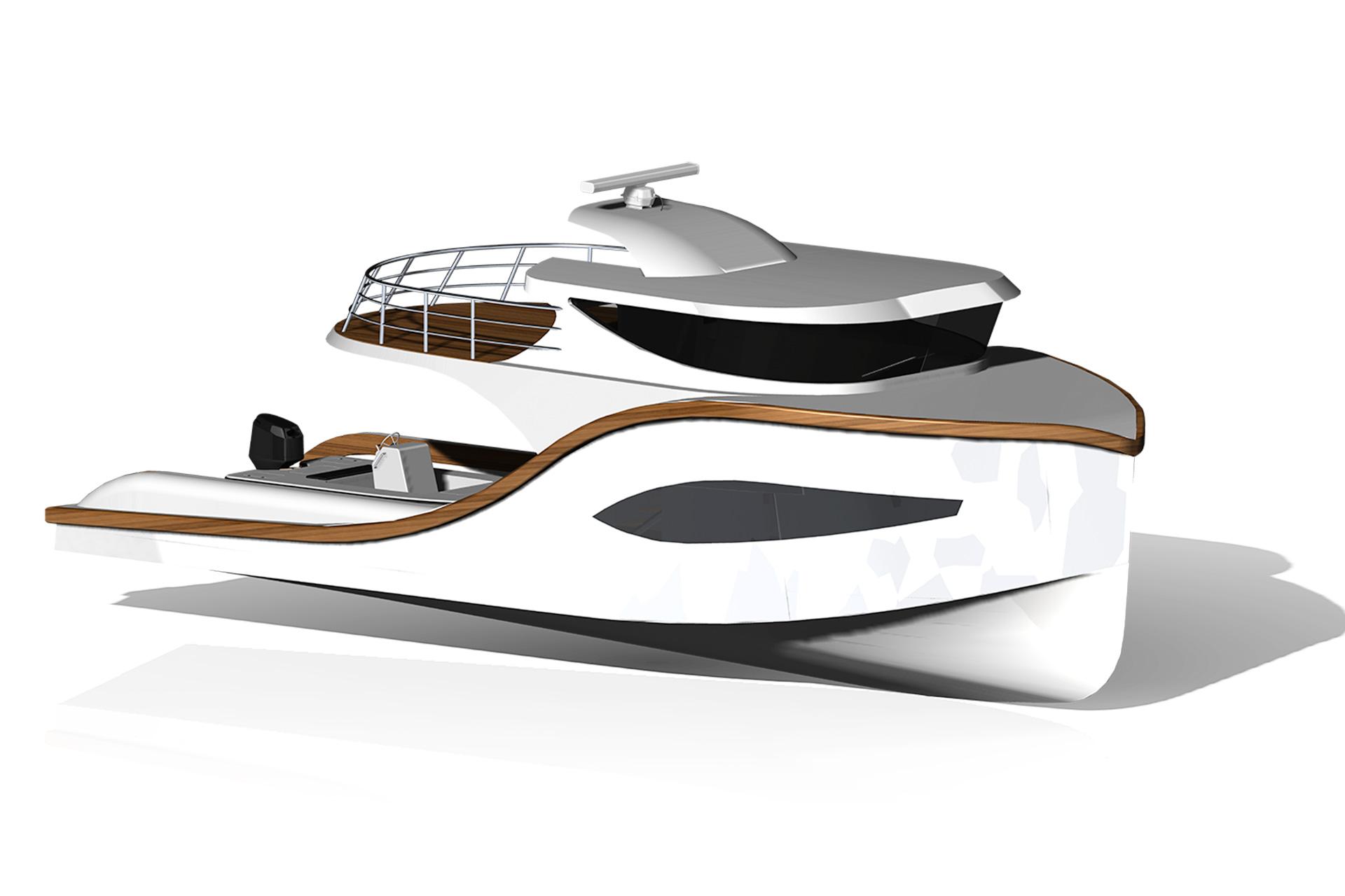 Electric Boats Hybrid Pocket Yacht