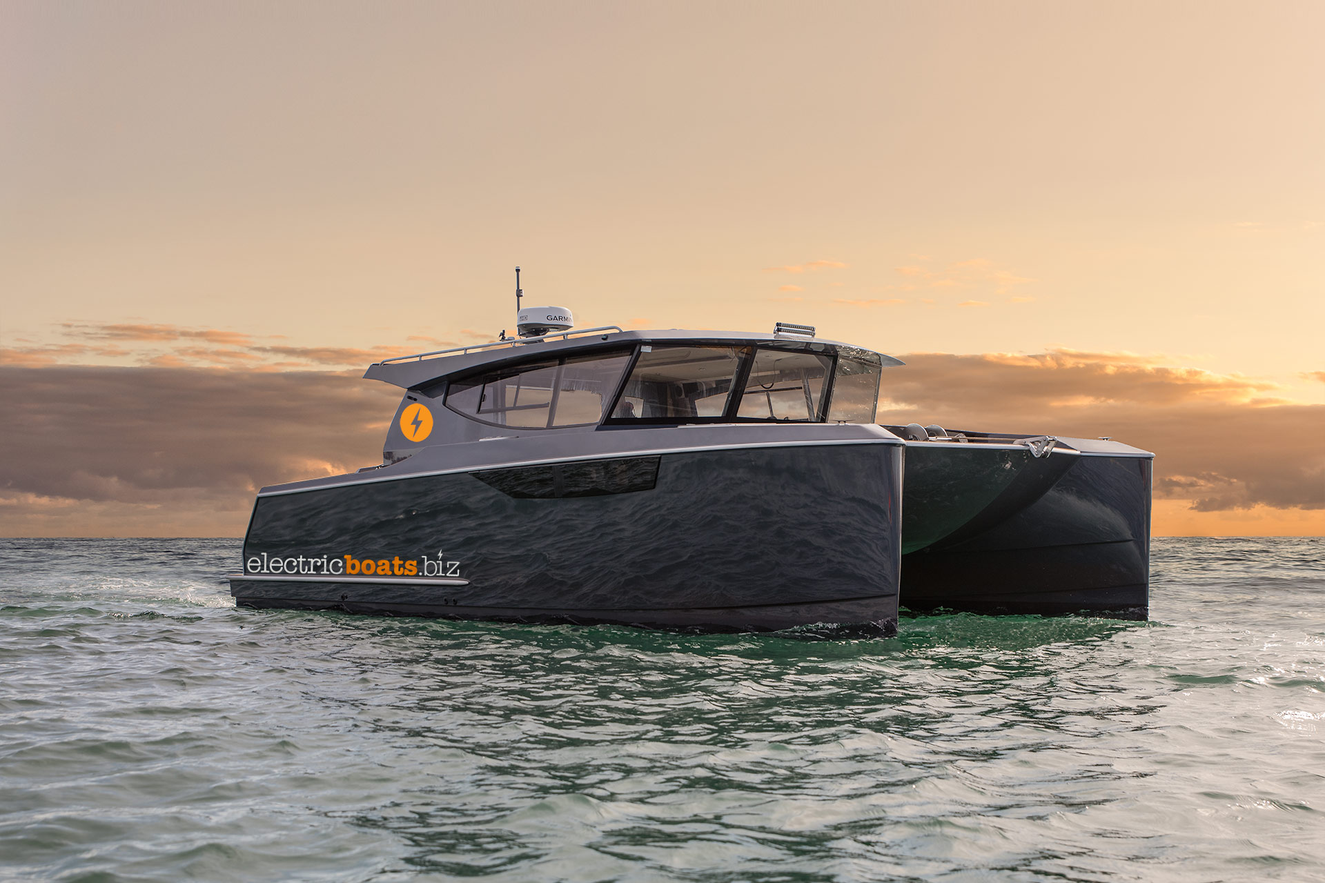 Electric Boats Hybrid Catamaran