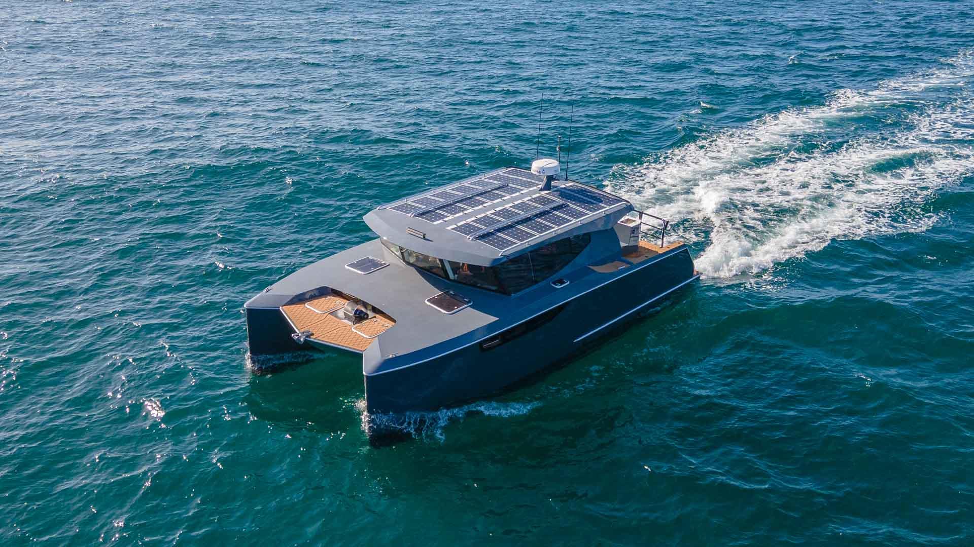 Electric Boats - Hybrid Catamaran